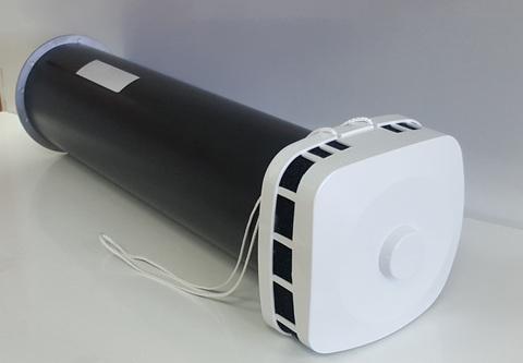 КИВ 125 1м с антивандальной решеткой и квадратным оголовком