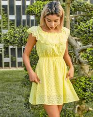 желтое летнее платье nadya