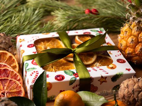новогодние подарки полезные сладости