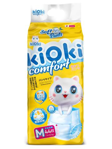 kiOki Детские подгузники-трусики COMFORT SOFT M (6-11 кг) 44 шт