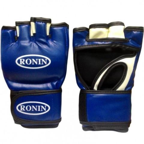 F1Т1В Перчатки ММА Ronin, pM синий цвет, спец. матер. Flex, Пакистан/ (Рон) (F1Т1В)