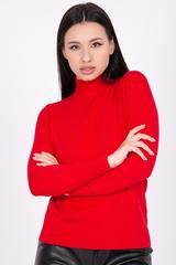 <p>Модный джемпер из мягкого кашемира отлично сочетается с юбкой, брюками и джинсами, создавая стильный ансамбль практичности и утонченности. Ворот - стойка.&nbsp;</p> <p><span>(Один размер: 42-48)</span></p>