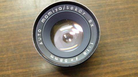 Объектив Mamiya Sekor 55 mm f/ 1.8