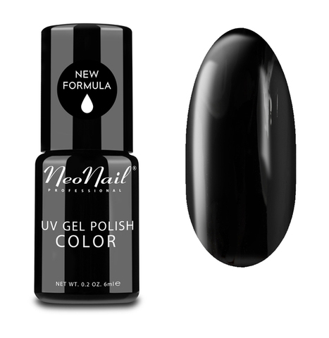 NeoNail Гель лак 7.2 мл Pure Black №2996-7