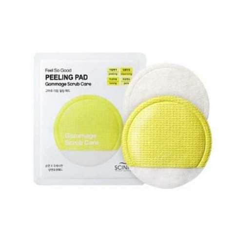 Очищающий спонж-пилинг-скатка Scinic Feel So Good Peeling Pad Gommage Scrub Care