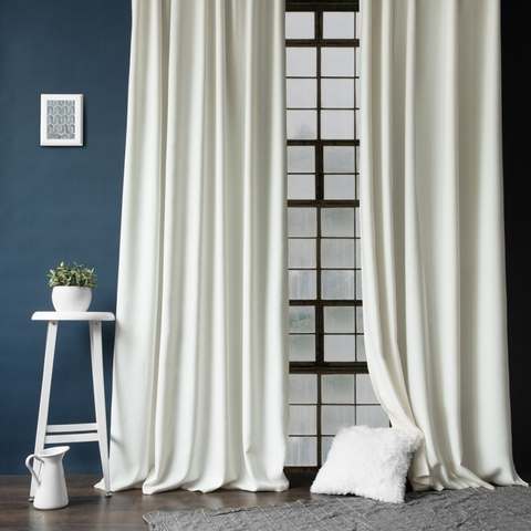 Комплект штор с подхватами Кенна белый