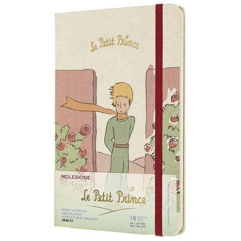 Еженедельник Moleskine Academic L`Petit Prince WKNT Large 130х210мм 18мес 208стр бежевый
