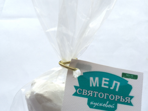 Мел Святогорья кусковой, 100 гр.