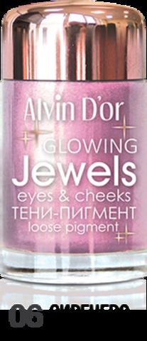 Alvin D`or Тени-пигмент для век Jewels  тон 06  AES-17 ,3г
