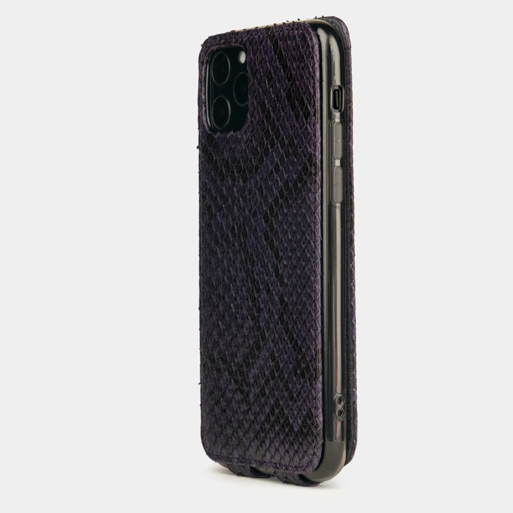 case iphone 11 pro max - python purple