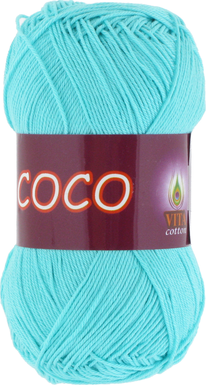 Пряжа Vita Coco 3867 светлая бирюза
