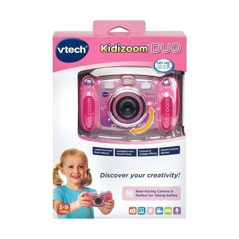 Vtech. Цифровая камера Kidizoom duo розового цвета