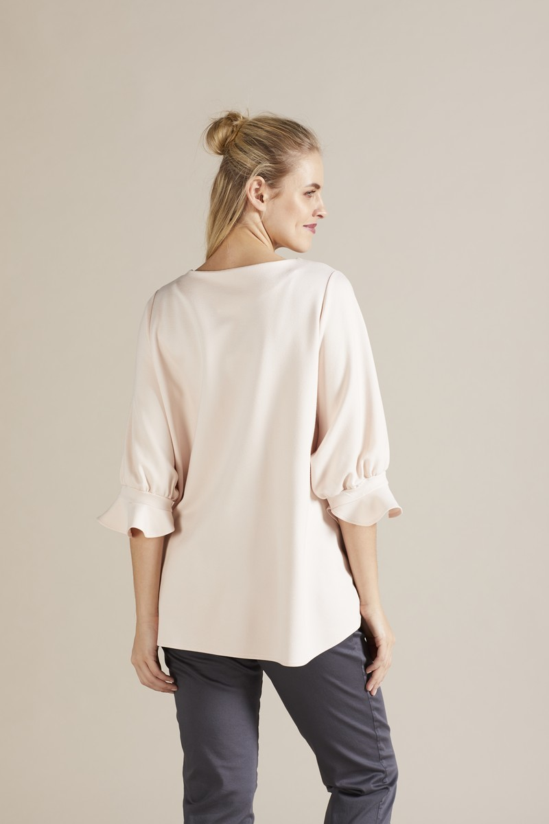 Блузка для беременных 09740 пудра