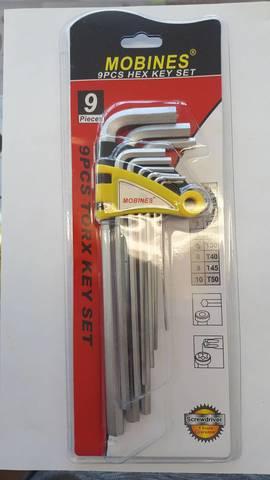 Шестигранные ключи (имбусовые)