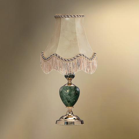 Настольная лампа с абажуром 24-20Ф/8059Ф СТАРЫЙ АРБАТ