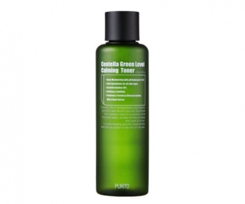 Купить PURITO Centella Green Level Calming Toner - Успокаивающий тонер с экстрактом центеллы