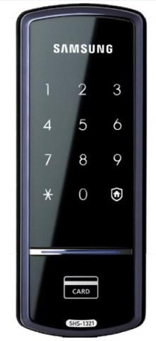 Накладной электронный дверной замок Samsung SHS-1321
