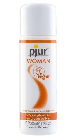 Лубрикант pjur WOMAN Vegan на водной основе - 30 мл.