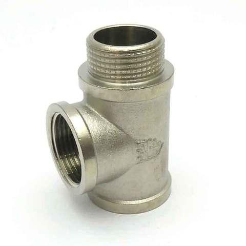 Тройник никелированный 3/4'' ВВН SD Forte