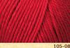 Пряжа Fibranatura Luxor 105-08 (Красный)