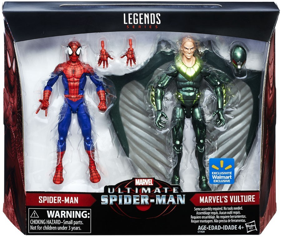 Марвел Легенд набор фигурок Человек паук Ультимат