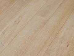 Паркетная доска Timberwise коллекция Однополосная Дуб классик Белый песок handwashed 185 мм
