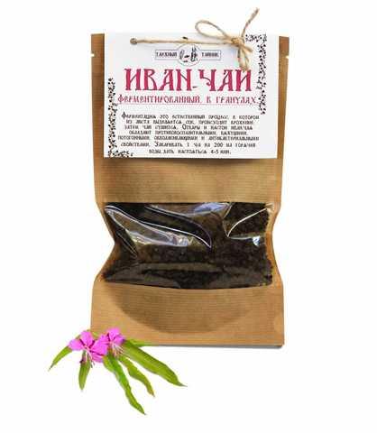 Иван-чай (ферментированный, в гранулах)