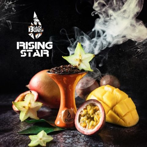 Табак Burn Black Rising Star (Манго маракуйя) 200г