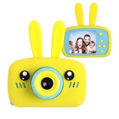 детский цифровой фотоаппарат zoo kids зайчик желтый