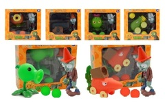 Растения против Зомби игрушка стрелялка серия 02
