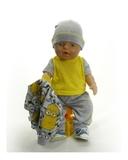 Костюм с курткой бомбером - На кукле. Одежда для кукол, пупсов и мягких игрушек.