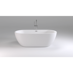 Ванна отдельностоящая 170х80 см Black&White Swan SB105 фото
