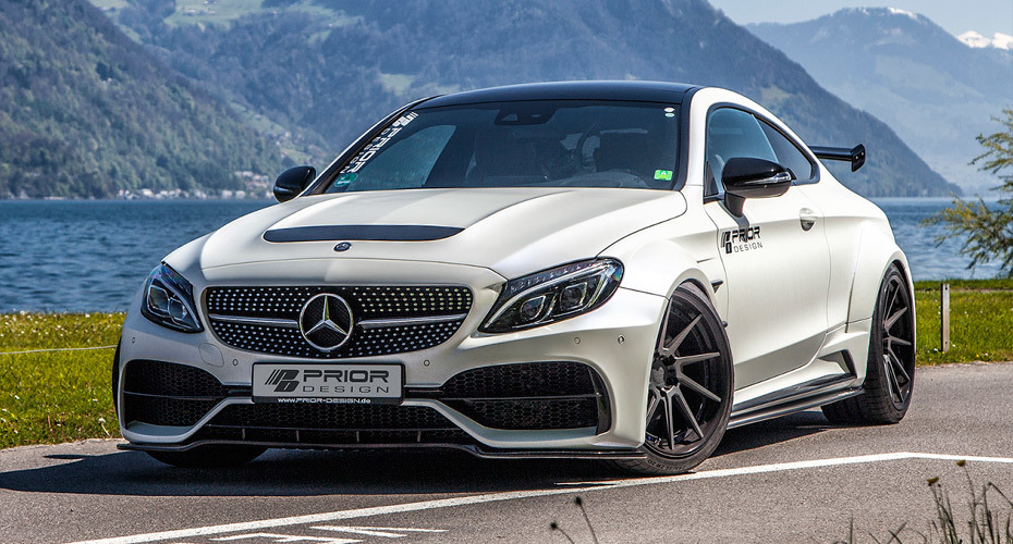 Обвес Prior Design PD65CC для Mercedes C Coupe C205