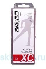 Парафин углеводородный SkiGo CH XC Glider Red +1/-5 , 200 г