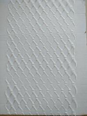 Вуаль вафельная, ширина 20 см., айвори