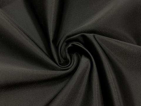 Ткань бельевая утягивающая, черная