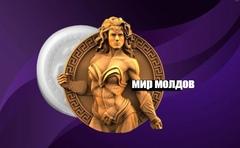 Силиконовый молд № 467 Медальон