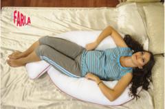 Farla. Подушка для беременных Care Pro U с двойным наполнителем, вид 3