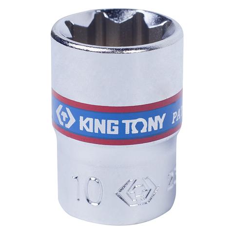 KING TONY (231010M) Головка торцевая восьмигранная 1/4