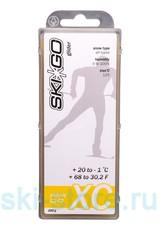 Парафин углеводородный SkiGo CH XC Glider Yellow +20/-1, 200 г