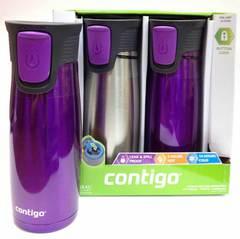 Термокружки Contigo (2 шт.) фиолетовая/металлик