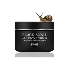 Многофункциональный крем для лица Eyenlip Black Snail All In One Cream с экстрактом муцина черной улитки 100 мл