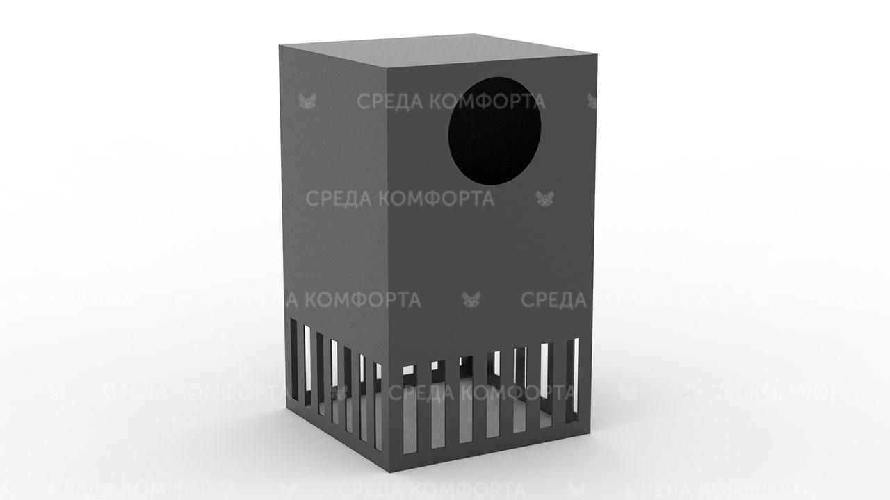 Урна металлическая уличная URN0118