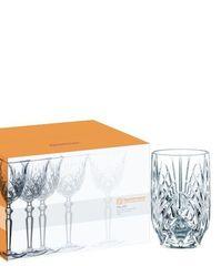 Хрустальный стакан для сока и воды Palais, 238 мл, фото 2