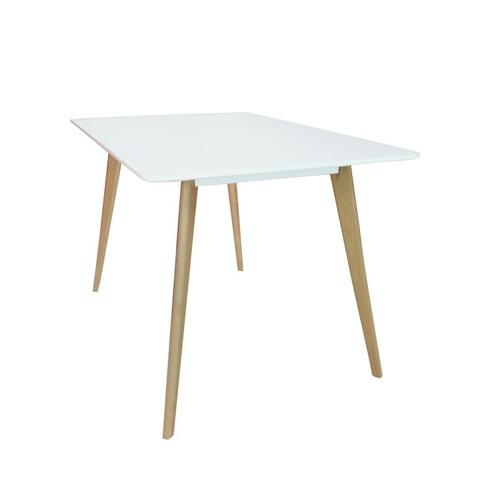 Стол обеденный PLANO (120) WHITE (белый)