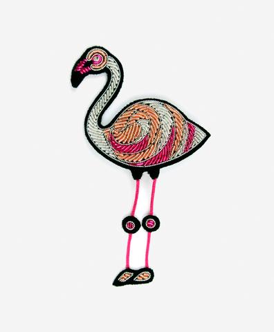 Брошь Flamingo