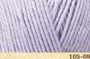 Пряжа Fibranatura Luxor 105-09 (Бледно-лиловый)