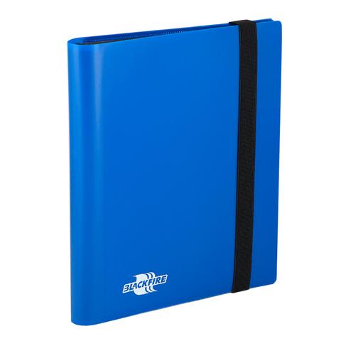 Альбом Blackfire c 20 встроенными листами 2х2 Flexible Blue