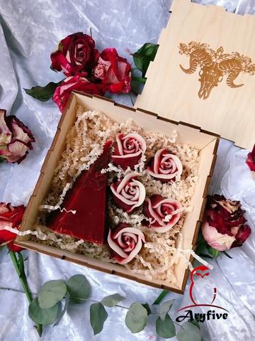Набор свечей «Пламя любви»