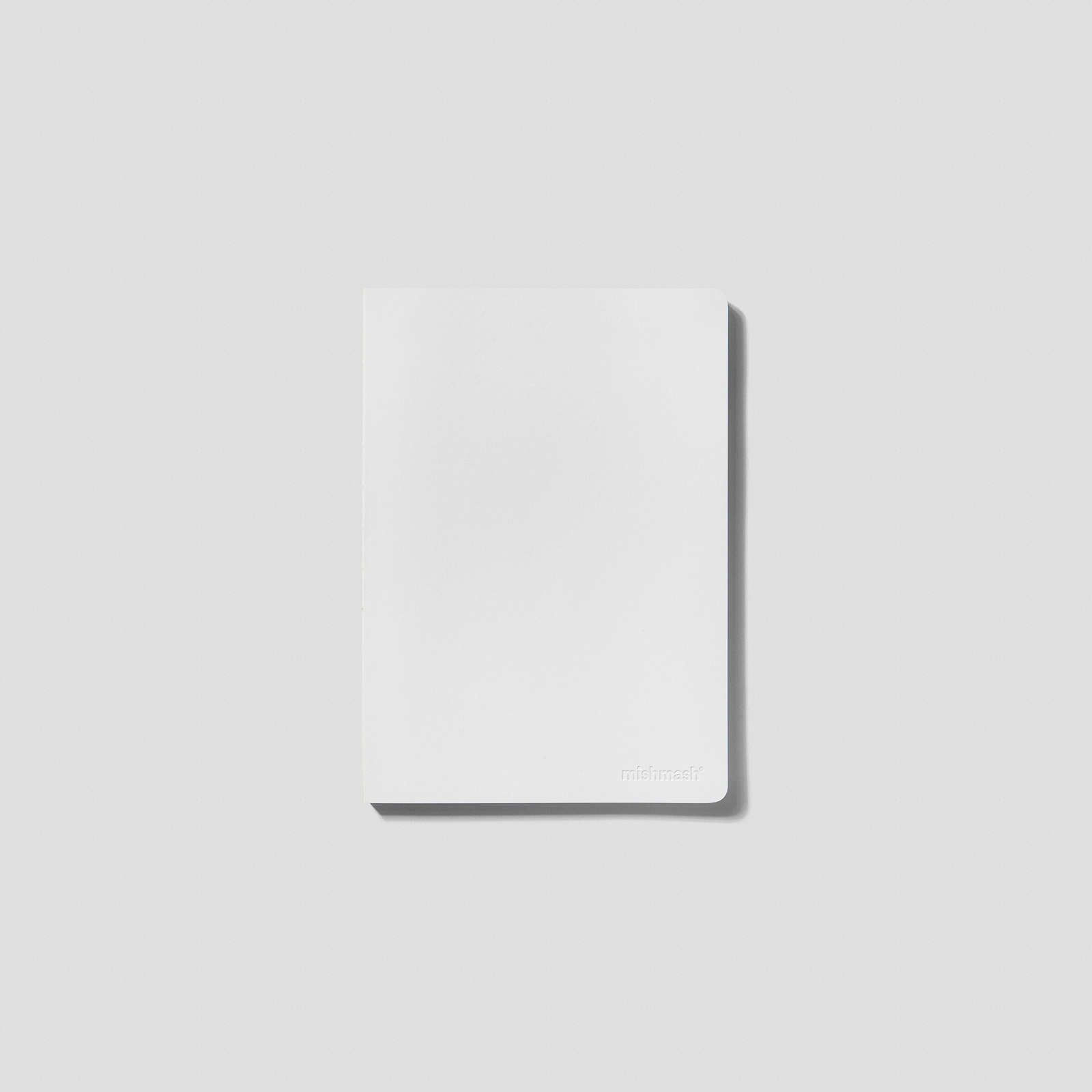 Mishmash Лаконичный блокнот The Notebook Naked White